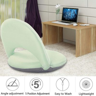 Floor Chair Floor Cushion Sofa Lounge Chair Game Chair Adjustable 5 Position Reclining Washable Cover Soft Foam