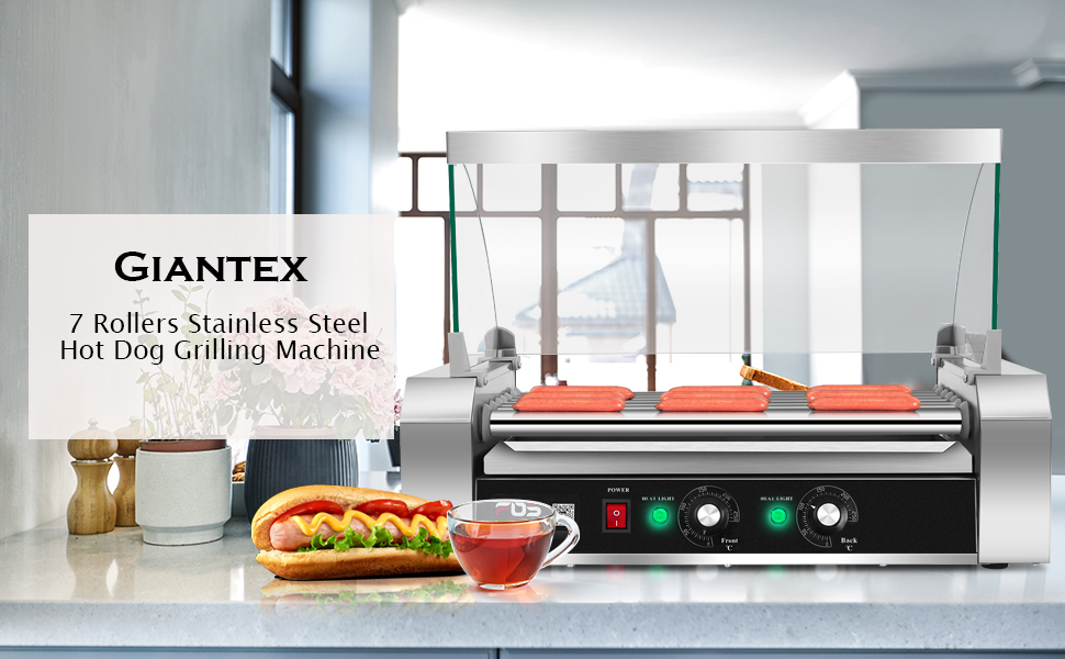 Giantex Hot Dog Roller Review