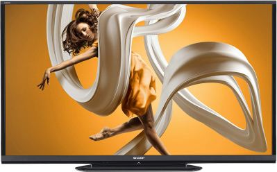 Sharp LC-80LE650U 80-Inch Aquos HD 1080p 120Hz Smart LED TV 2014 Model