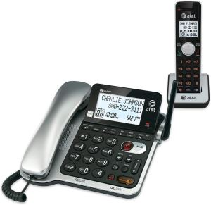 AT&T Corded-Cordless Phone with Answering System