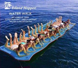 Island Hopper Floating Water Mat