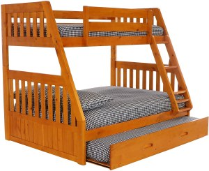 Discovery World Furniture with with Trundle Bunk Bed