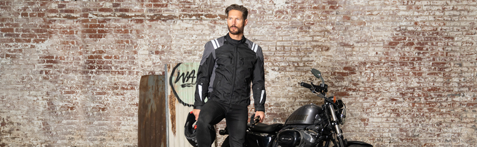 Viking Cycle Ironborn Protective Textile Motorcycle Jacket
