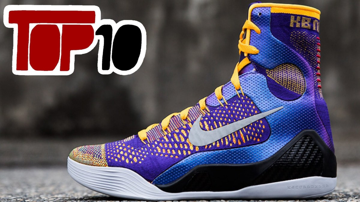 Top 10 Best Basketball Shoes of 2017