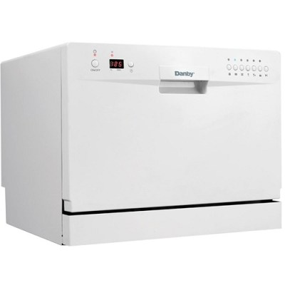 2. Danby DDW611WLED Countertop Dishwasher