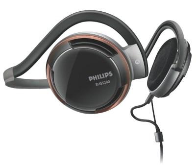 3. Philips Rich Bass Neckband Headphones SHS520028