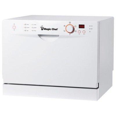 8. Magic Chef MCSCD6W3 Countertop Dishwasher