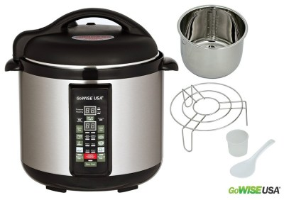 4. GoWISE USA Electric Pressure Cooker