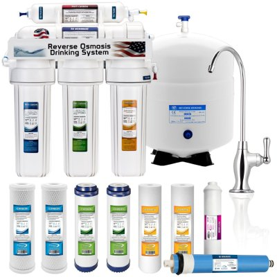 2. 5 Stage Home Drinking Reverse Osmosis System PLUS Extra Full Set- 4 Water Filter