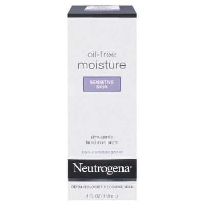 4 Neutrogena Oil-Free Moisture Sensitive Skin, 4 Fl. Oz