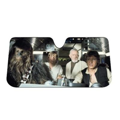 4. Plasticolor 003700R01 Star Wars Accordion Sunshade
