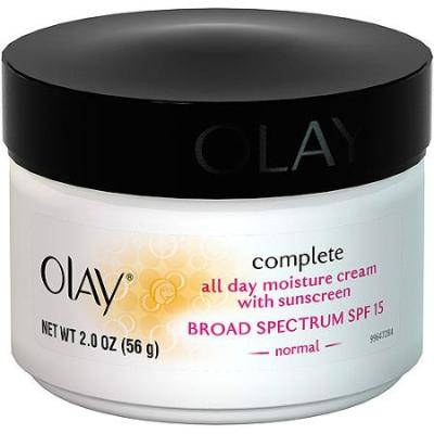 8 Olay Complete All Day Moisturizer With Sunscreen Broad Spectrum SPF 15