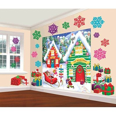 10 North Pole Wall Decorating Kit