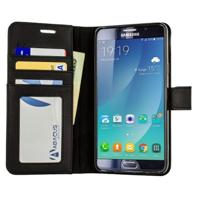 4. Abacus24-7 Wallet Series Samsung Galaxy Note 5 Case