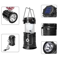 3. GYY 3-in-1 Solar Rechargeable LED Lantern