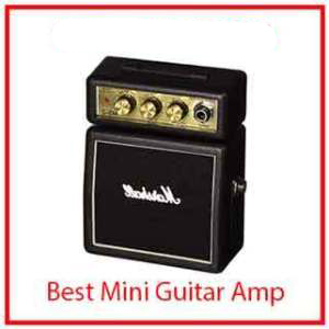 7) Marshall MS2 Battery-Powered Micro Guitar Amplifier