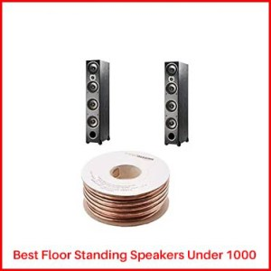 Polk Audio Monitor 70 (paired) Floor Standing Speakers under 1000