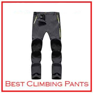 Singbring Men Women Outdoor Windproof Climbing Pants