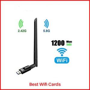 TECHKEY 1200Mbps Wifi Card