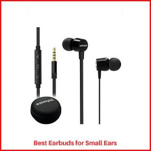 Joymiso Tangle Free Earbuds for Small Ears