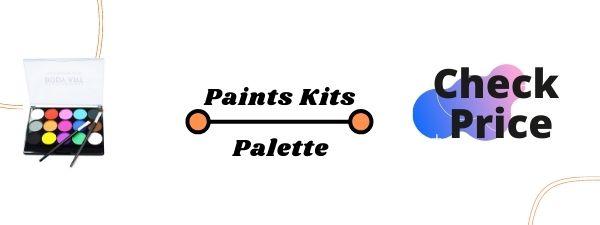 MooMoo BabyHypoallergenic Makeup Palette-Safe