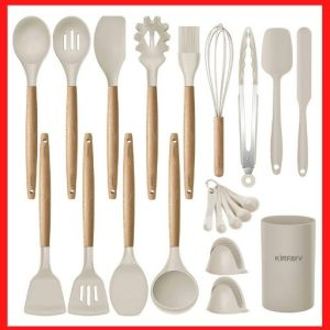 KINFAY Silicone Cooking Utensils