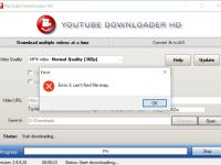 YouTube Downloader Error bei einigen Videos