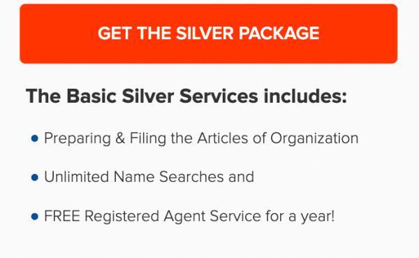 Incfile's Silver Plan