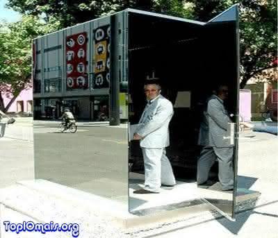 banheiro invisivel