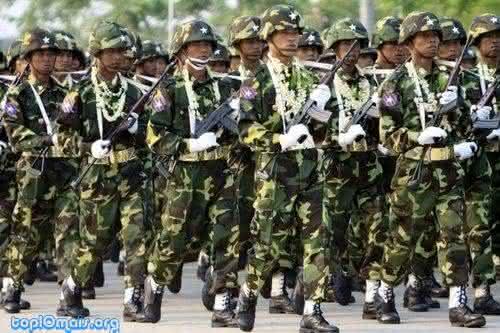 mianmar Top 10 maiores exercitos do mundo