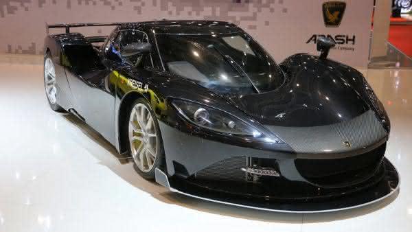 Arash AF10 Hybrid 3 entre os carros mais caros do mundo