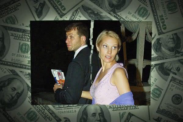 Roman e Irina Abramovich