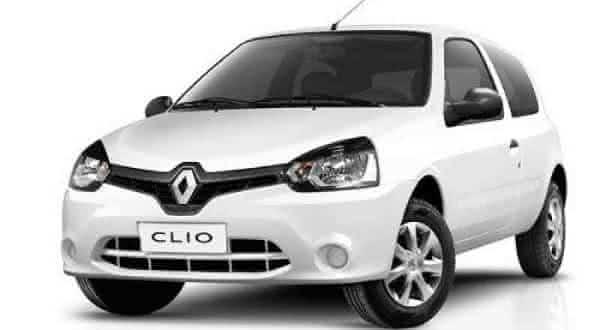 Clio Authentique carros mais economicos do brasil