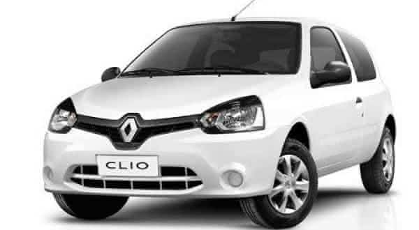 Clio Authentique carros mais economicos do brasil