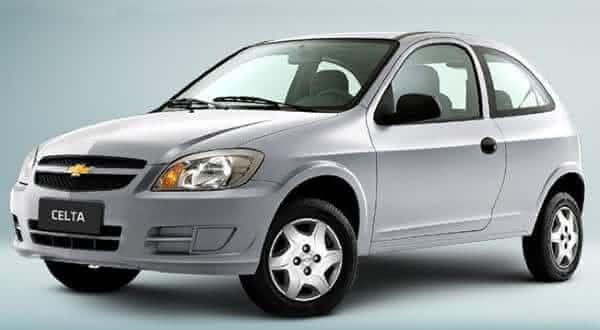 celta entre os carros mais baratos
