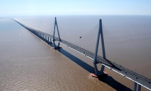 Ponte da baía de Hangzhou