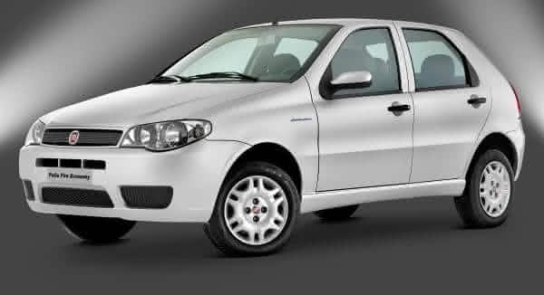 Fiat Palio entre os carros que gasta menos gasolina