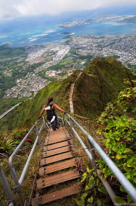 escadas havai eua