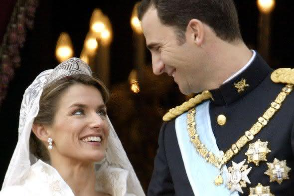 Principe Felipe da espanha e Letizia Ortiz Rocasolano