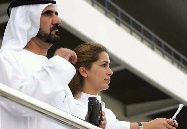 Sheikh Mohammed bin Rashid Al Maktoum e Sheikha Hind Bint Maktoum