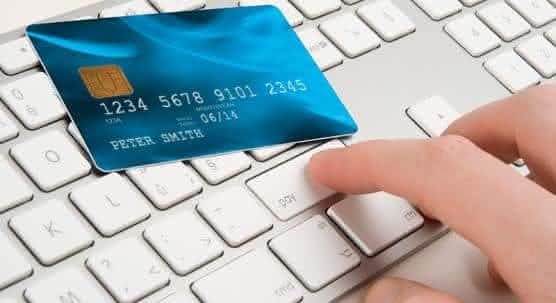 formas de pagamento cartao de credito compras online