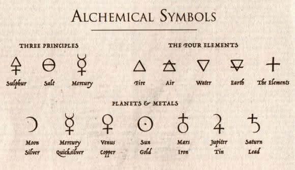 alquimia simbolos da nova era
