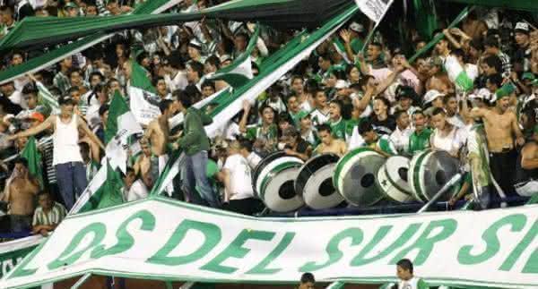 torcida Atletico Nacional colombia