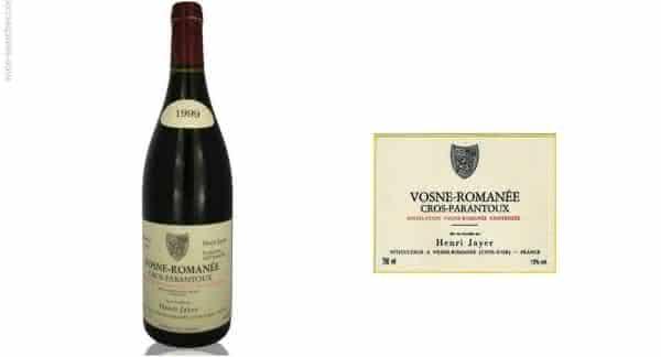 Henri Jayer Cros Parantoux – Vosne-Romanee Premier Cru