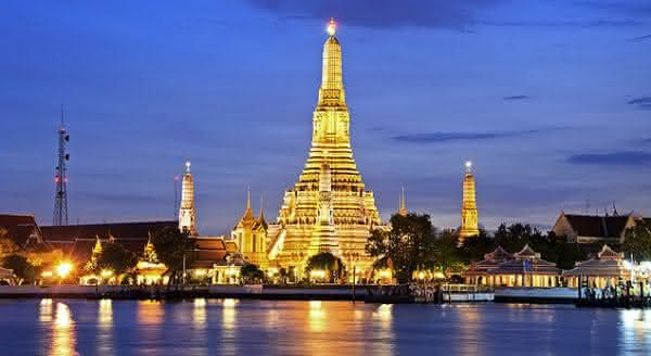 templo Wat arun bangkoc