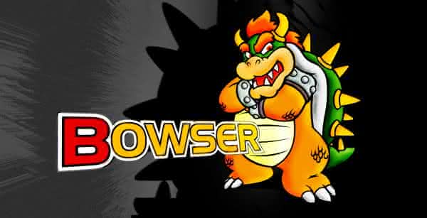 bowser vilao dos games