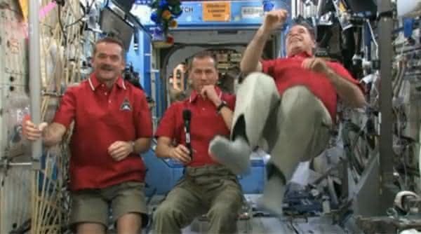 gravidade iss