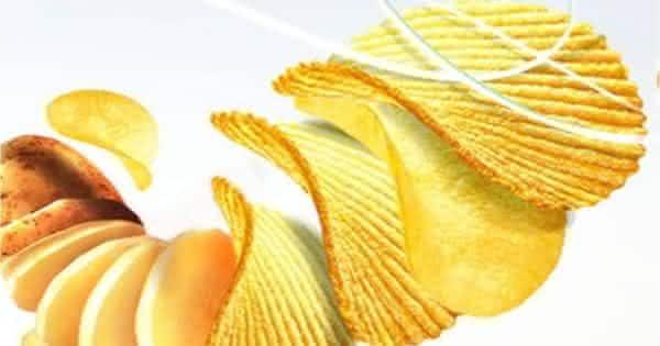 salgadinho de batatas