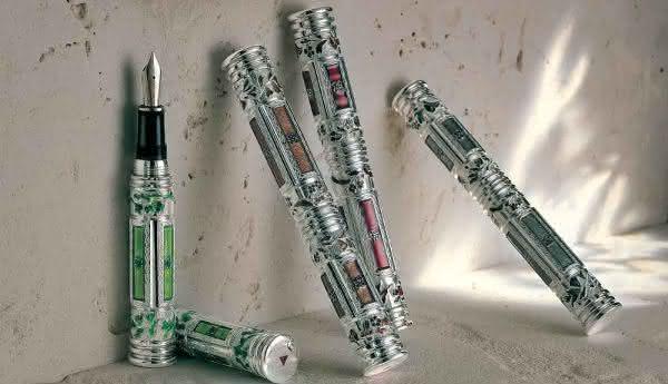 Four Seasons Fountain pen canetas mais caras do mundo