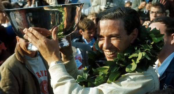 Jim Clark entre os maiores pilotos de formula 1